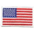 """Нашивка """"Флаг США"""" 8 х 5 см."""