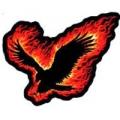 """Нашивка """"Пламенный орел"""""""