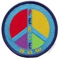 "Нашивка ""Peace"" 7.5 х 7,5 см."
