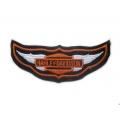 "Нашивка ""Harley Davidson"" 12,5 х 5 см"