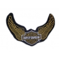 "Нашивка ""Harley Davidson"" 12,5 х 9 см"
