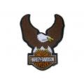 "Нашивка ""Harley Davidson"" 12,5 х 10 см"