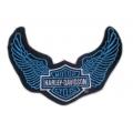 "Нашивка ""Harley Davidson"" 17 х 11 см"