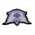 "Нашивка ""Harley Davidson"" 12,5 х 8 см"