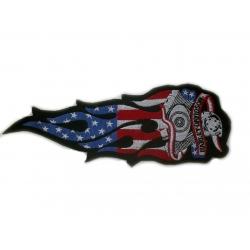 "Нашивка ""Harley Davidson"" 26 х 9 см"