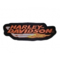 "Нашивка ""Harley Davidson"" 15 х 5 см"
