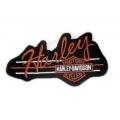 "Нашивка ""Harley Davidson"" 14 х 8 см"