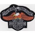 "Нашивка ""Harley Davidson"""