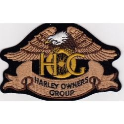 "Нашивка ""Harley Davidson HOG"""
