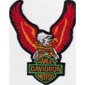 "Нашивка ""Harley Davidson"" 11 х 9 см."