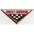 "Нашивка ""Harley Davidson"" 11 х 5 см."