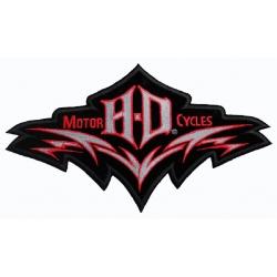 "Нашивка ""Harley Davidson"" 25,5 х 14.5 см"