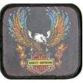 "Нашивка ""Harley Davidson"" 7,5 х 7 см"
