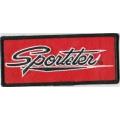 "Нашивка ""Harley Davidson - Sportster"" 12 х 5 см"