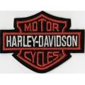 "Нашивка ""Harley Davidson"" 8,5 х 8 см"