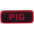"""Нашивка """"Свин"""" 10 х 4 см."""