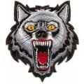 """Нашивка """"Волк"""" 10х9 см."""