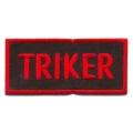 """Нашивка """"Triker"""" 8х4 см."""