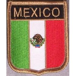 Нашивка флаг Мексики