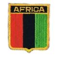 Нашивка флаг Африка