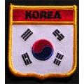 Нашивка флаг Южной Кореи