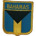 Нашивка флаг Багамских островов