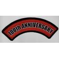 "Нашивка ""100 лет Harley Davidson"""