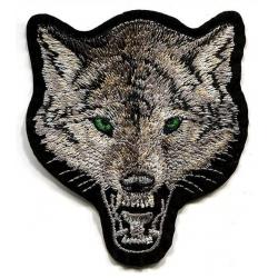 """Нашивка """"Волк"""" 10 х 8 см"""