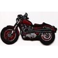 "Нашивка ""Мотоцикл"" 10 х 5,5 см"