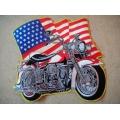 "Нашивка ""Harley Davidson"" 26,5 х 24 см."
