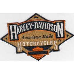 "Нашивка ""Harley Davidson"" 12,5 х 8 см."