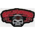 "Нашивка ""Harley Davidson"" 13 х 7 см."