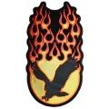 """Нашивка """"Орел в пламени"""" 32 х 16 см."""