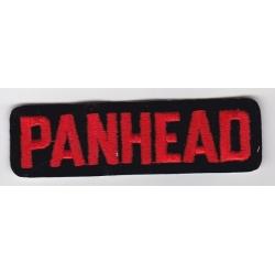 """Нашивка """"Panhead"""" 9 х 2,5 см"""