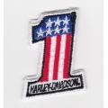 "Нашивка ""Harley Davidson"" 48 х 38 мм"