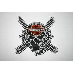 "Нашивка ""Harley Davidson"" 8,5 х 9 см"