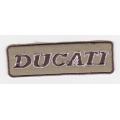 "Нашивка ""Ducati"", 8 х 2.3 см"