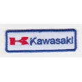 "Нашивка ""Kawasaki"" 7,2 х 2,3 см"