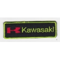 "Нашивка ""Kawasaki"" 8 х 2 см"