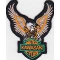"Нашивка ""Kawasaki"" 6,5 х 5,5 см"