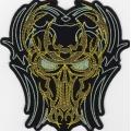 """Нашивка """"Tribal Skull"""" 12,5 х 12,5 см"""