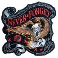"""Нашивка """"Не забудем никогда"""""""
