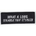 """Нашивка """"Это было долгое и странное путешествие"""""""