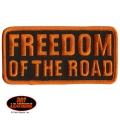 """Нашивка """"Freedom of the road"""" (свобода дороги)"""