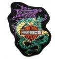 "Нашивка ""Harley Davidson"" 9,5 х 7,5 см"