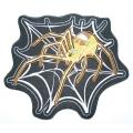 """Нашивка """"Паук в паутине"""" 19 x 16 см"""
