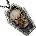 "3D-Медальон на каучуковом шнурке из коллекции ""Dark side"""