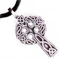 """Подвеска на каучуковом шнурке """"Кельтский крест"""""""