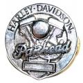 Значок Harley Davidson