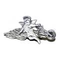 Значки - байкерский Ангел-Хранитель